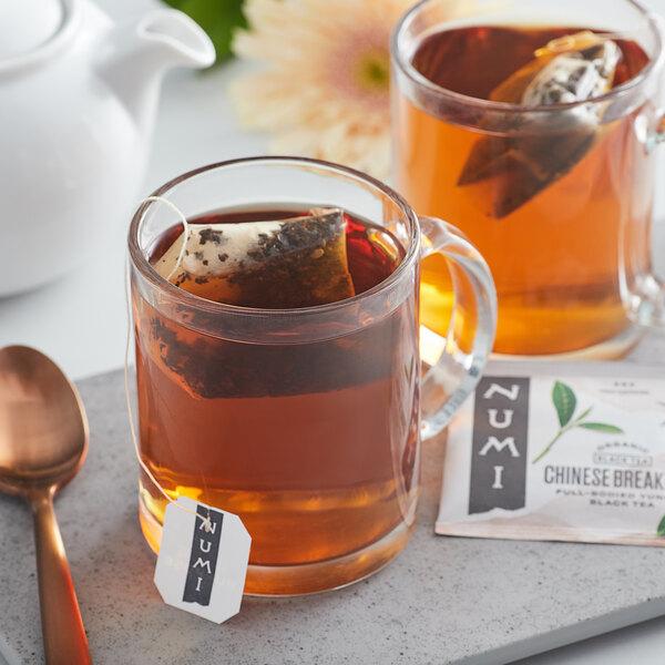 Numi Organic Chinese Breakfast Tea Bags - 18/Box Main Image 3
