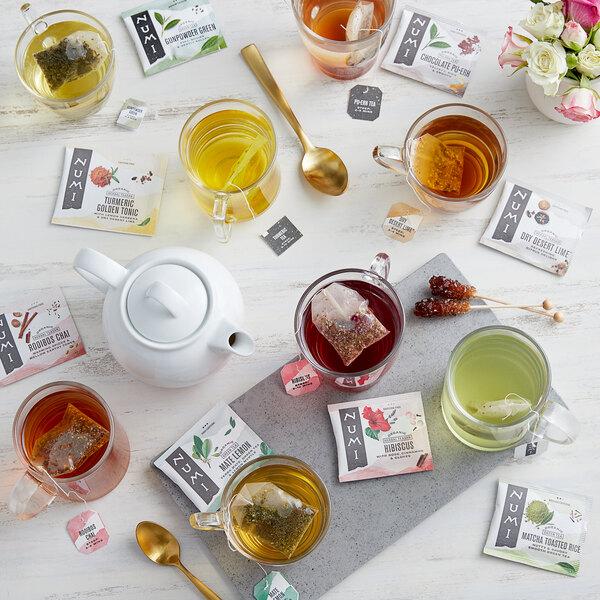 Numi Organic Tea Bag Collection 16 Box