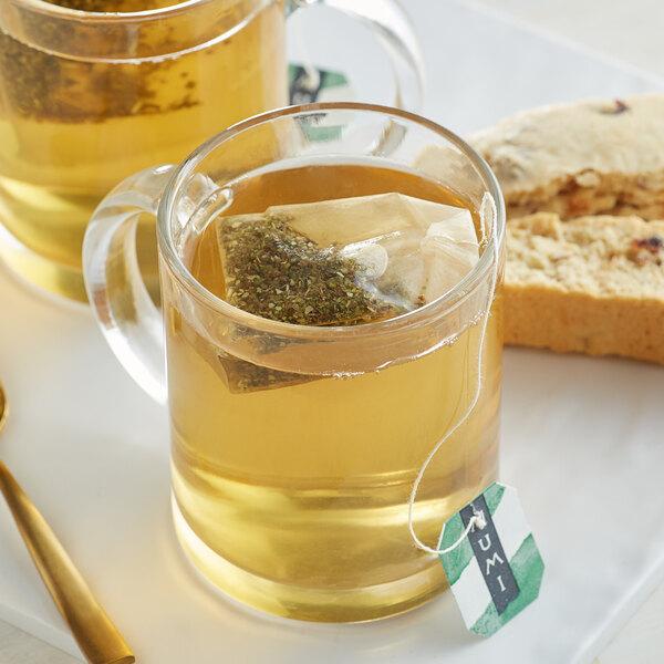 Numi Organic Mate Lemon Tea Bags - 100/Case Main Image 2