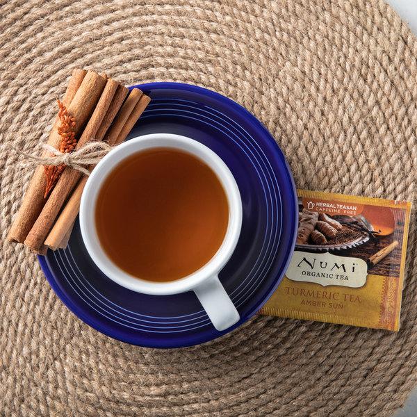 Numi Organic Amber Sun Turmeric Tea Bags - 12/Box