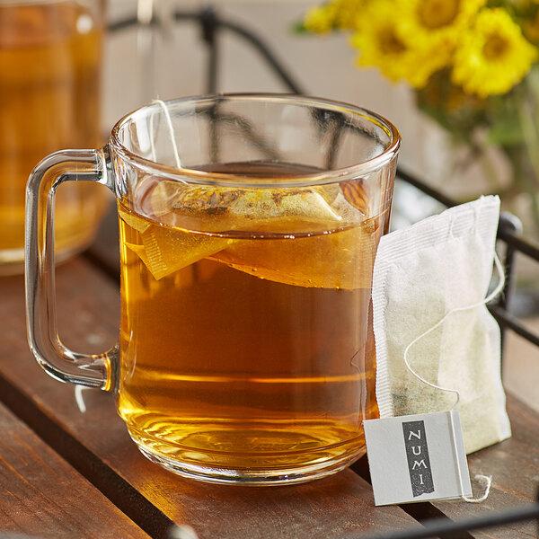 Numi Organic Amber Sun Turmeric Tea Bags - 12/Box Main Image 2