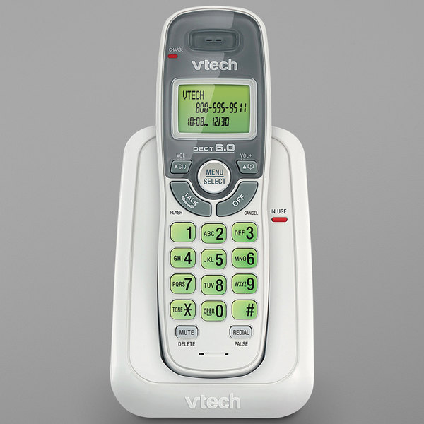 Vtech CS6114 Cordless Phone with Caller ID / Call Waiting and DECT 6.0 Technology