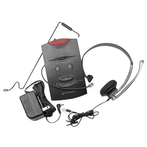 Plantronics S11 System Over The Head Telephone Headset With Noise Canceling Microphone