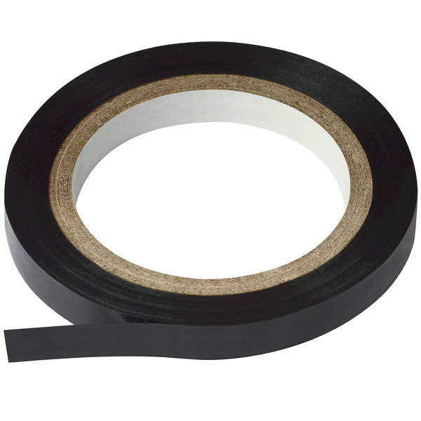 "Cosco 098075 Black 1/4"" x 324"" Gloss Finish Art Tape"