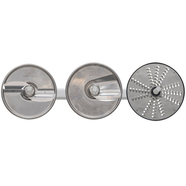 Hobart PLATE-3PACK-SS 3 Plate Pack with Wall Rack