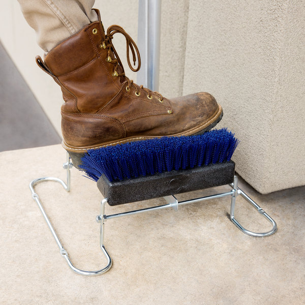 1e3253e759 Carlisle 4042414 Spectrum Blue Boot and Shoe Brush