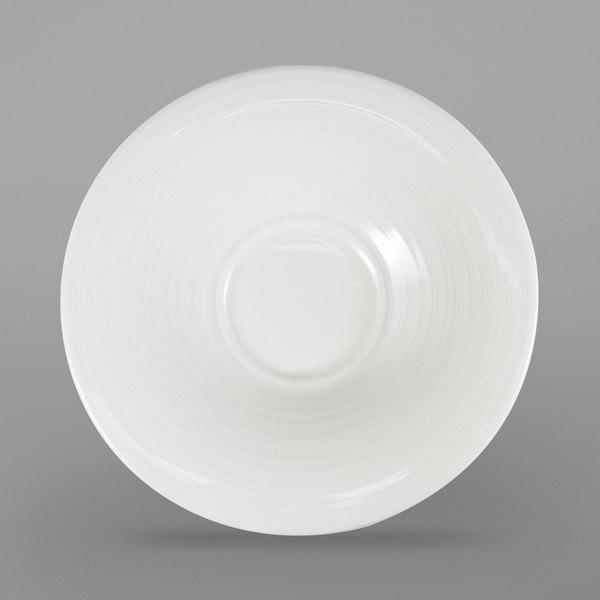 Oneida R4898998500 Chord 6 1 4 White Porcelain Saucer 36 Case