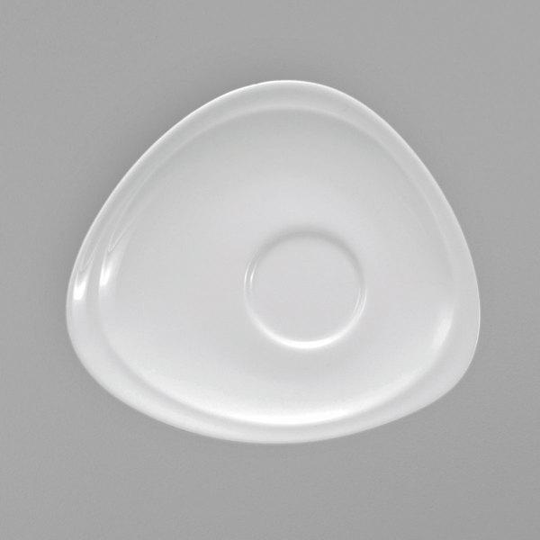 Oneida R4700000505 Mood 5 Bright White Porcelain Saucer 36 Case