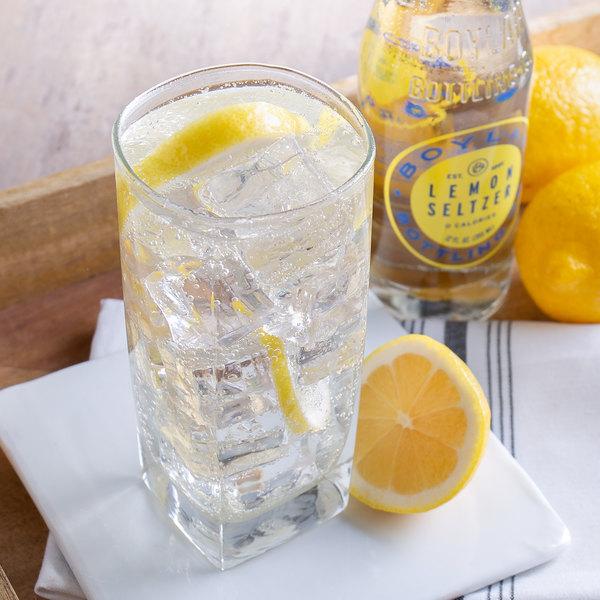 Boylan Bottling Co. 12 fl. oz. Lemon Seltzer 4-Pack - 6/Case Main Image 4