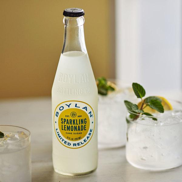 Boylan Bottling Co. 12 oz. Sparkling Lemonade 4-Pack - 6/Case
