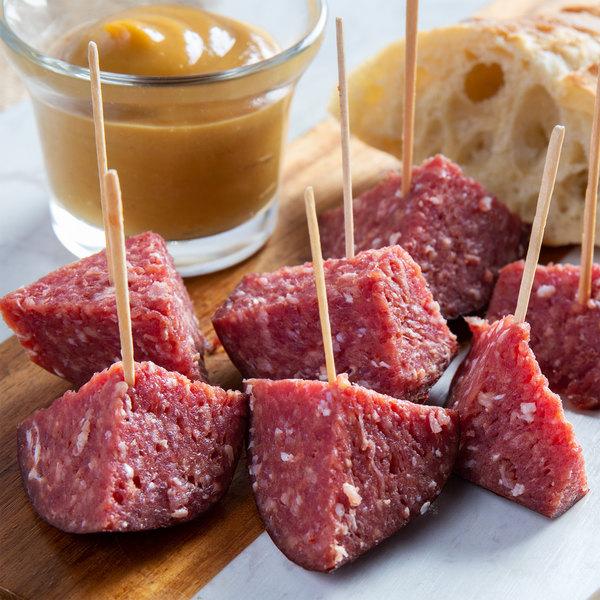 Seltzer's Lebanon Bologna Slim Slices Smoke'n Honey Beef Roll 14 oz.