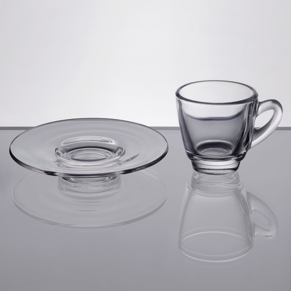 Marine Business Espresso Cup with Saucers-Welcome on board