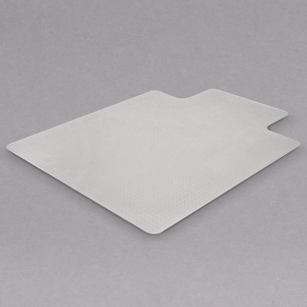 Clear Beveled Medium Pile Carpet 45x53 w//Lip deflecto CM14233 SuperMat Frequent Use Chair Mat
