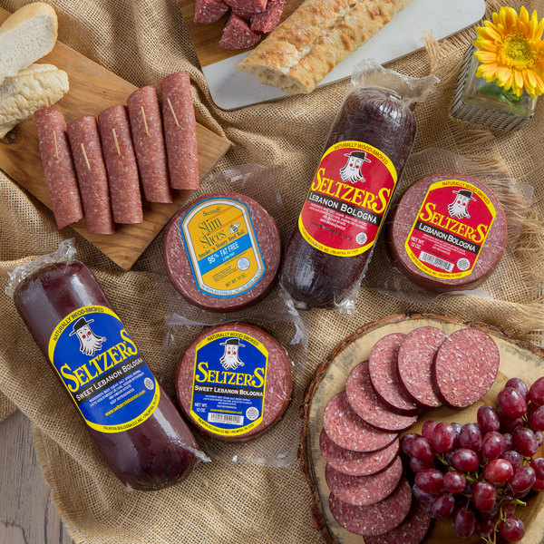 Seltzer's Lebanon Bologna Holiday Classic Medley with Assorted Whole and Sliced Bologna Main Image 2