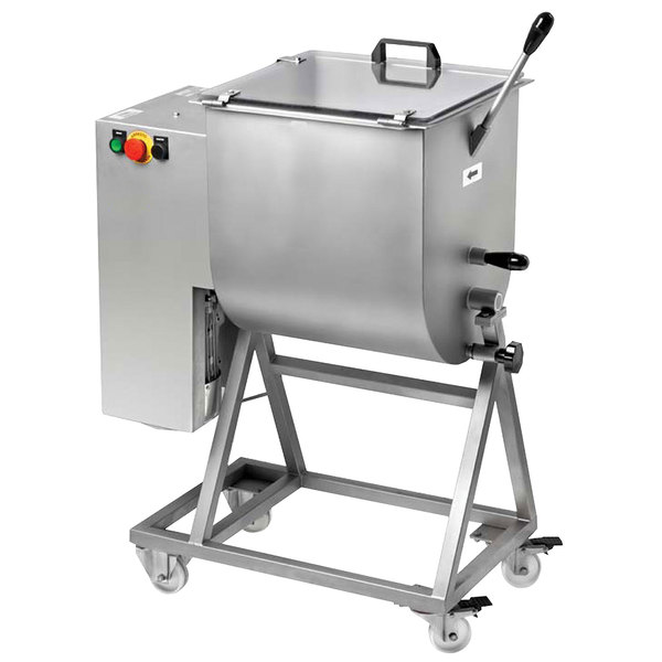 Heavy-Duty 110 lb. Electric Meat Mixer - 220V