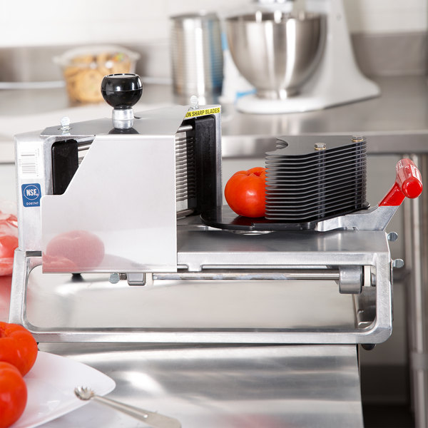 """Vollrath 15105 Redco InstaSlice 3/16"""" Fruit and Vegetable Cutter with Scalloped Blades"""