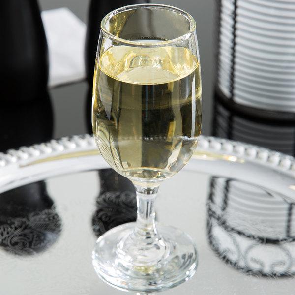 Libbey 3766 Embassy 6.5 oz. White Wine Glass - 36/Case