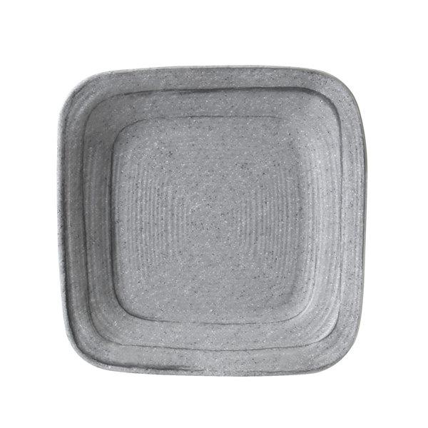 Elite Global Solutions D5plst Della Terra Melamine Stoneware 5 Granite Stone Irregular Square Plate 6 Case
