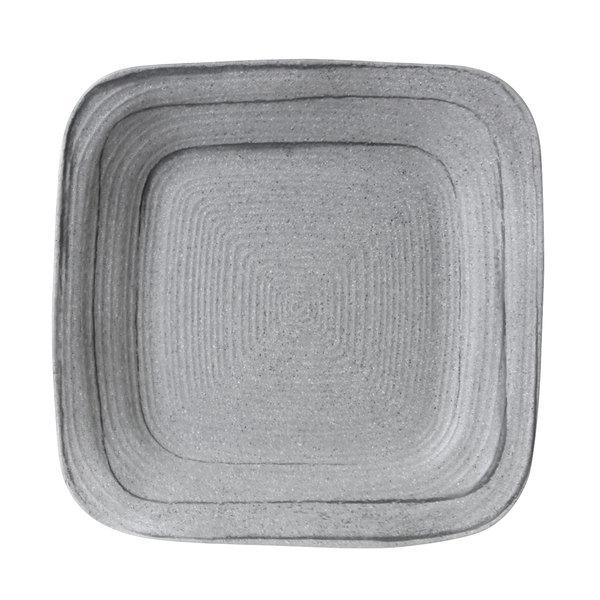 Elite Global Solutions D11plst Della Terra Melamine Stoneware 11 Granite Stone Irregular Square Plate 6 Case