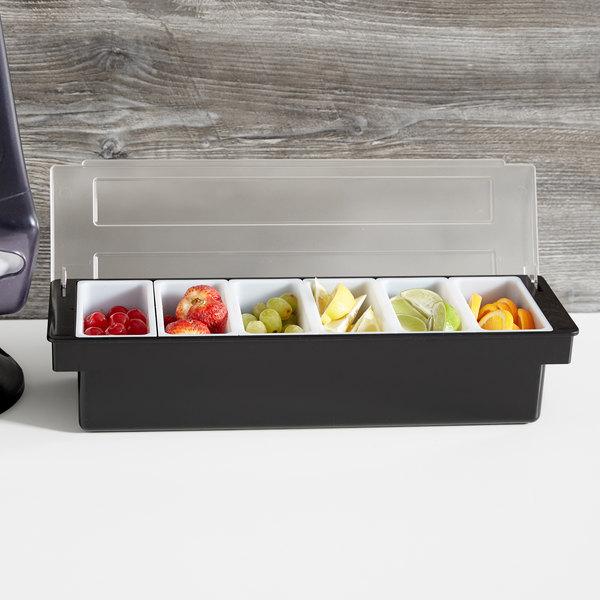 6 Compartment Condiment Holder