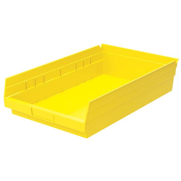 "Metro MB30178Y Yellow Nesting Shelf Bin 17 7/8"" x 11 1/8"" x 4"""