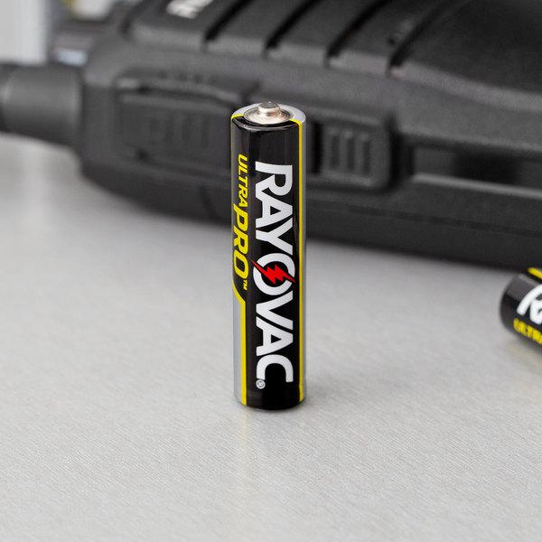 Rayovac ALAAA-8J Ultra Pro Industrial AAA Alkaline Batteries - 8/Pack Main Image 3