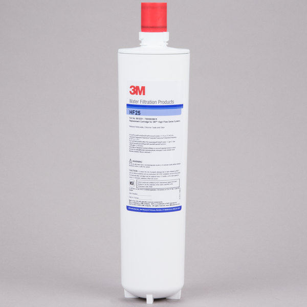 3M Water Filtration Products HF25 Sediment, Chlorine Taste and Odor Reduction Cartridge - 1 Micron and 1.5 GPM Main Image 1
