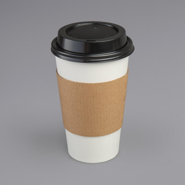 100 x 12oz White Paper Single Wall Disposable Tea Coffee Cappuccino Hot Drinks Cup