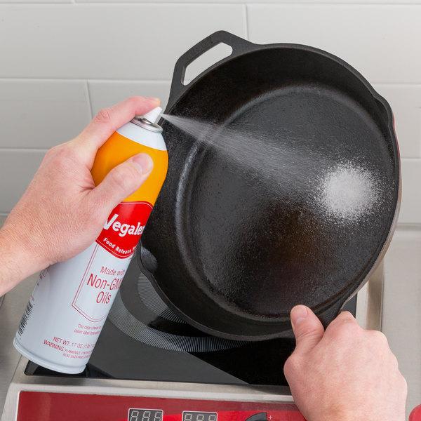 Vegalene 17 oz. Non-GMO Food Release Spray Main Image 3