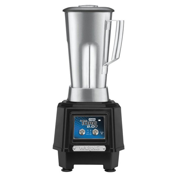 Waring TBB145S6 2 hp Torq 2.0 Blender with Toggle Controls and 64 oz. Stainless Steel Container
