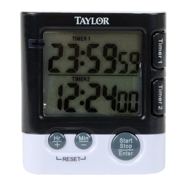 Exceptionnel With The Taylor 5828 Dual Event Digital Kitchen Timer, You Can Time Two  Events Simultaneously! Each Separate Timer On The Taylor 5828 Kitchen Timer  Has Its ...