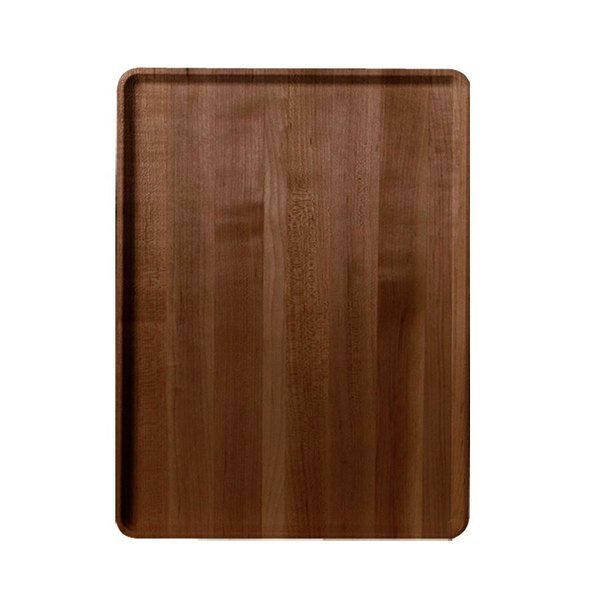 "Cambro 1520D308 15"" x 20"" Burma Teak Wood-Look Dietary Tray - 12/Case"