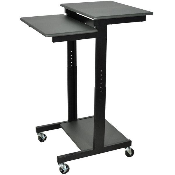 "Luxor Prestige PS3945 Mobile Computer Workstation 24"" x 31"" - Adjustable Height"
