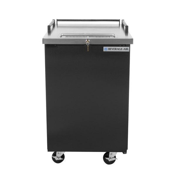 Beverage-Air BM23HC-B-28 Kegerator Beer Dispenser without Tap Tower - Black, (1) 1/2 Keg Capacity