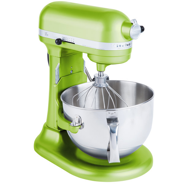 Merveilleux KitchenAid KP26M1XGA Green Apple Professional 600 Series 6 Qt. Countertop  Mixer