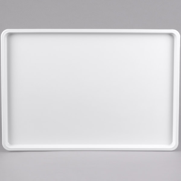 "Winholt WHP-1826WABS White Polystyrene Display Tray - 18"" x 26"""