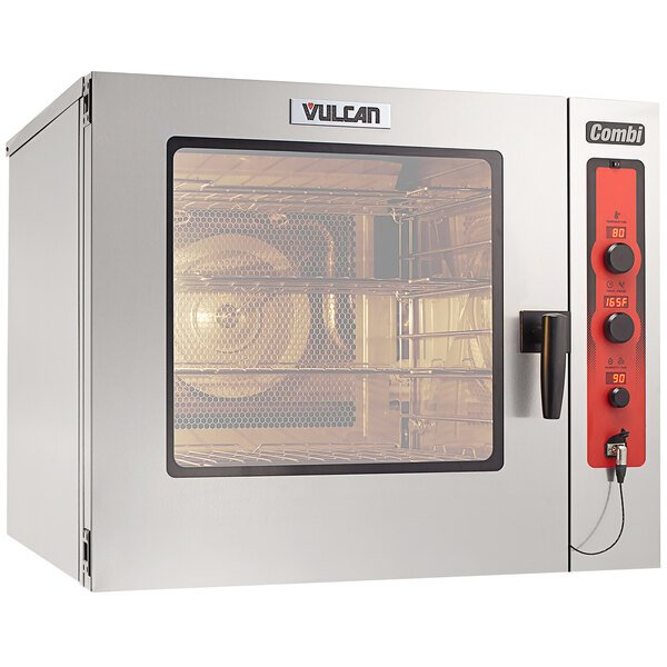 Vulcan ABC7E-480P Full Size Electric Combi Oven with Probe - 480V, 3 Phase, 24 kW Main Image 1