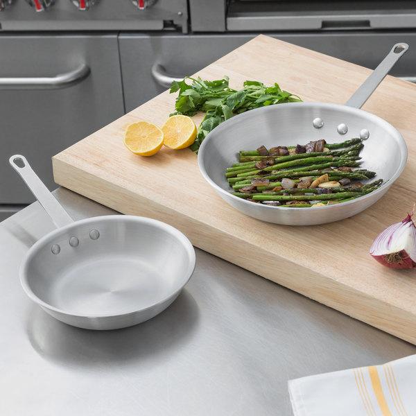 """Choice 2-Piece Aluminum Fry Pan Set - 8"""" and 10"""" Frying Pans Main Image 2"""