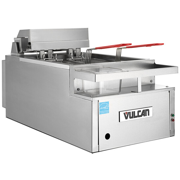 Vulcan CEF75 75 lb. Electric Countertop Fryer - 208V, 3 Phase, 24kW Main Image 1