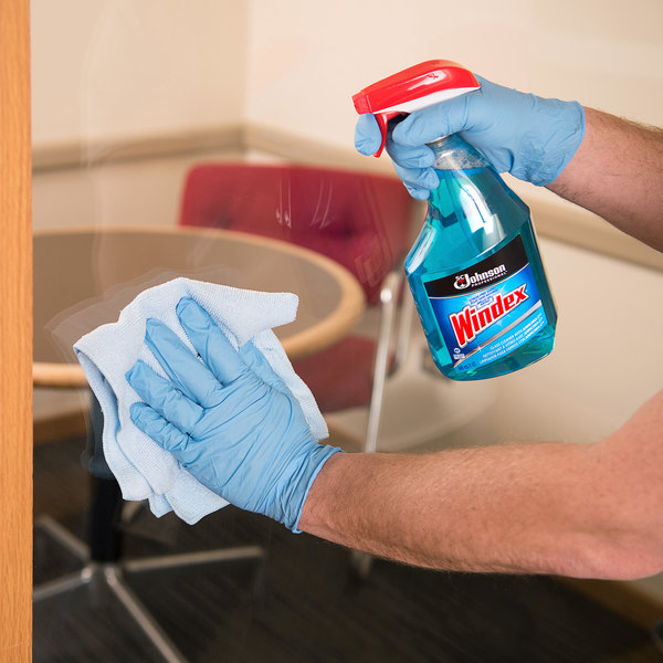 SC Johnson Windex® 695155 Ammonia-D 32 oz. Glass and Multi-Surface Spray Cleaner - 12/Case Main Image 3