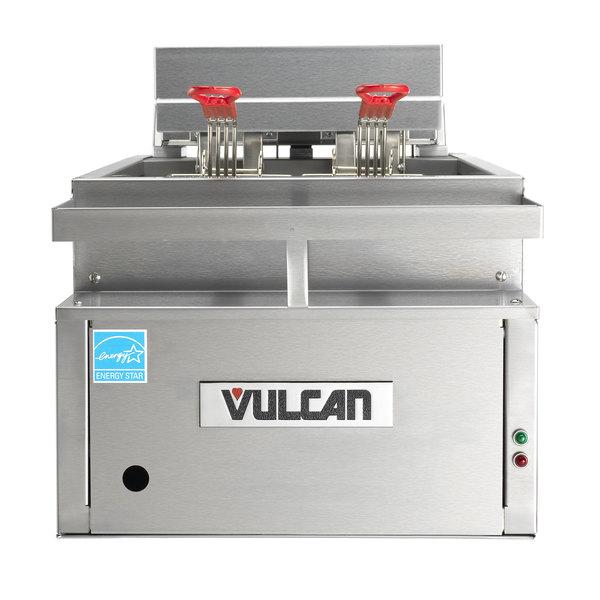Vulcan CEF40 40 lb. Electric Countertop Fryer - 208V, 3 Phase, 17kW