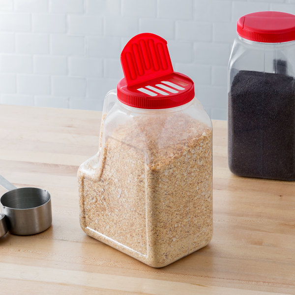 Choice 5 Lb Rectangular Plastic Spice General Use