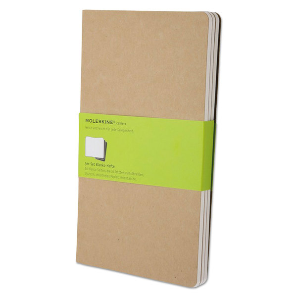 5 x 8 in, 8 Pack Lined Journal Kraft Paper Notebook