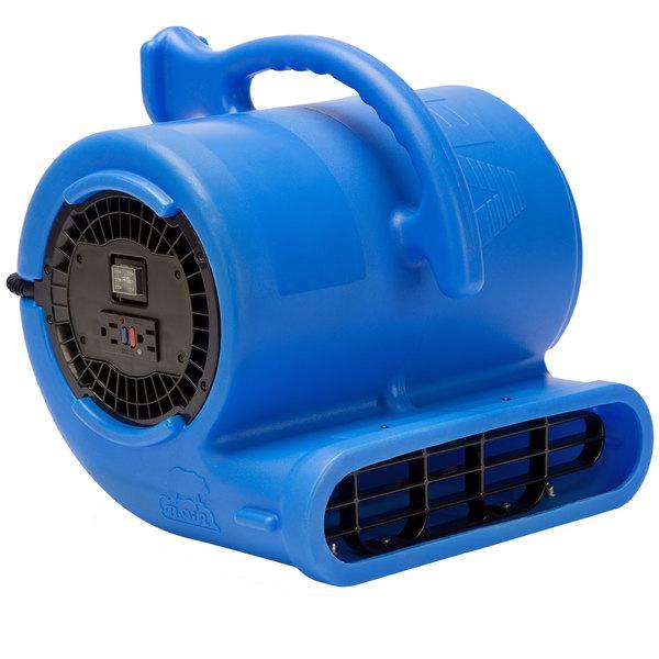 B-Air VPX34-BL Vent Blue 2-Speed Air Mover - 1/3 hp Main Image 1