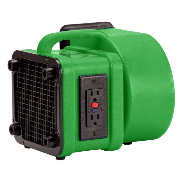 B-Air FX Flex Green Mini Commercial Air Mover - 1/4 hp