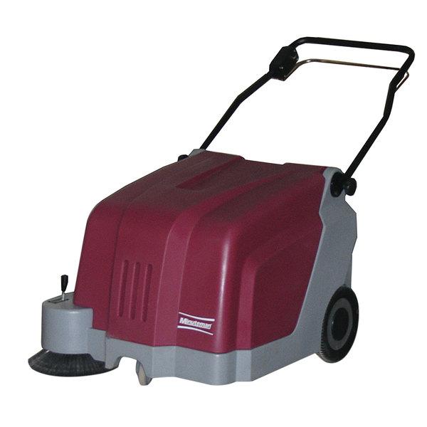 "Minuteman KS25 25"" Walk Behind Battery Operated Carpet Sweeper Main Image 1"