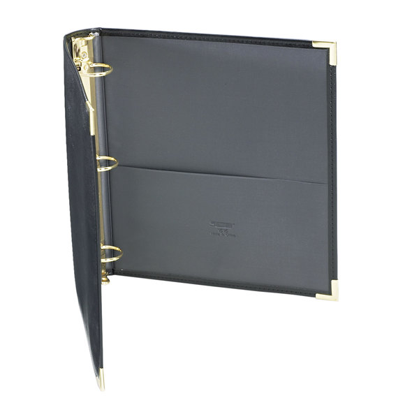"""Samsill 15150 Classic Collection Black Binder with 1 1/2"""" Round Rings Main Image 1"""