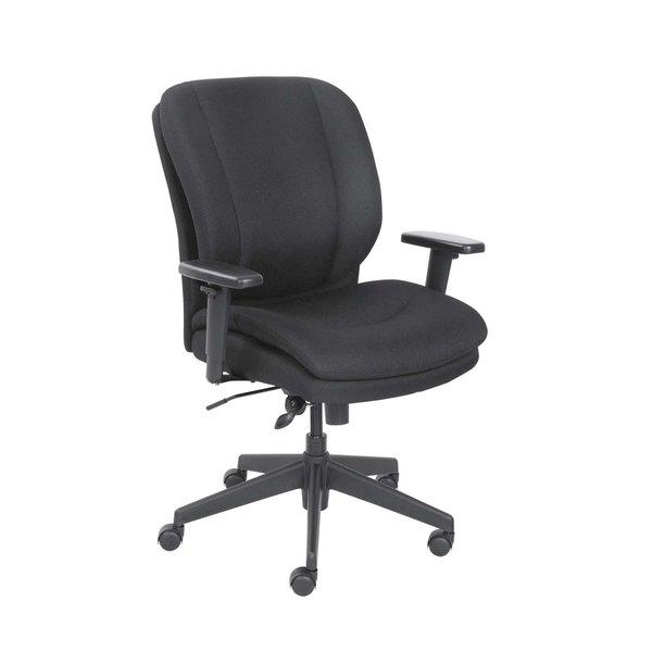 Serta 48967A SertaPedic Cosset Black Fabric Swivel / Tilt Office Chair Main Image 1