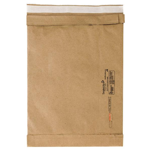 "Jiffy 65179 16"" x 10 1/2"" Padded Peel & Seal #5 Natural Kraft Mailer - 25/Case Main Image 1"