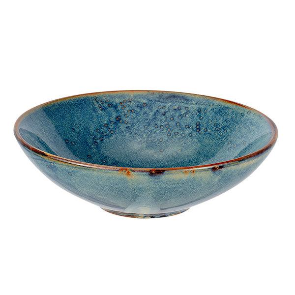 Bon Chef 2100002P Tavola Marea 40 oz. Porcelain Salad / Pasta / Soup Bowl - 12/Pack Main Image 1